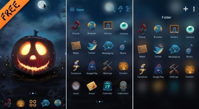 Halloween GO Launcher Theme