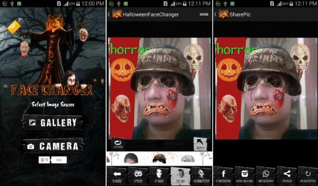 HalloweenFaceChanger