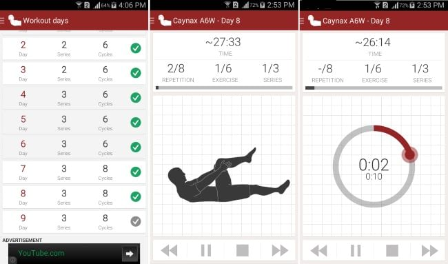 Abs workout app