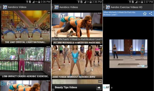 Aerobic Exercise Videos