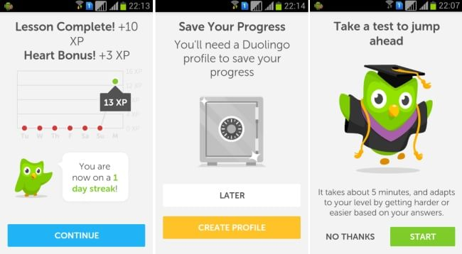 Duolingo-Progress