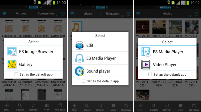 ES File Explorer- additional features