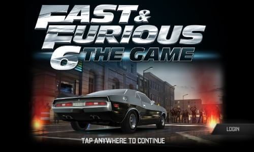 Fast and Furious 6 Game- Start