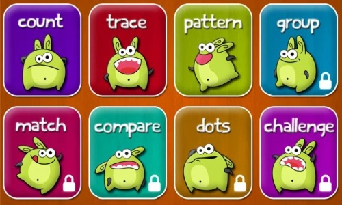 Kids Learning Numbers Lite- Options