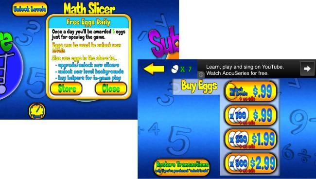 Math Slicer