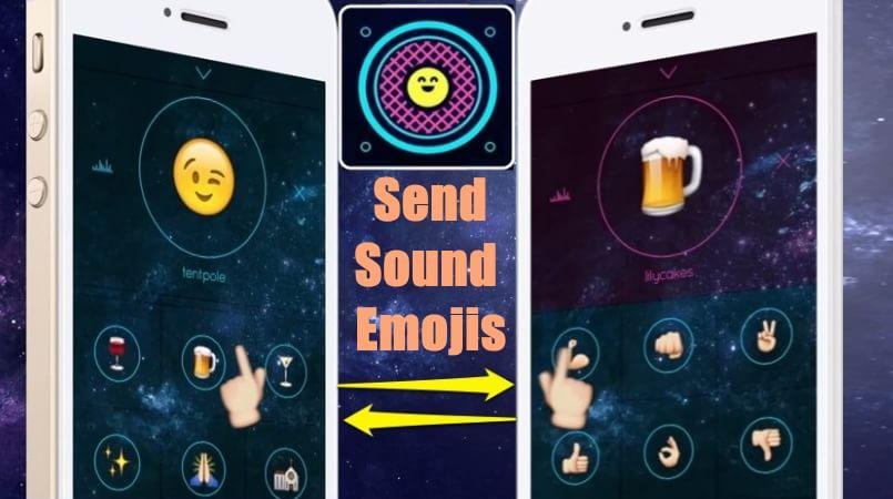 The Next Gen iPhone Emoji App To Send Sound Emojis