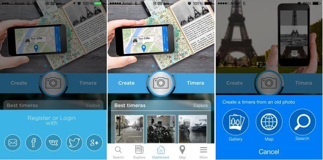 Timera-iPhone camera app