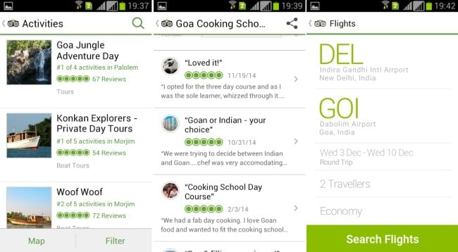 TripAdvisor-best travel guide app-Find best flight