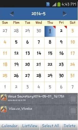 Voice Secretary- Edits