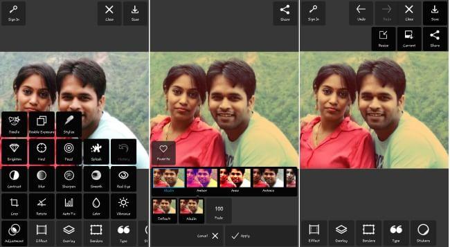 Autodesk Pixlr-free photo editor app