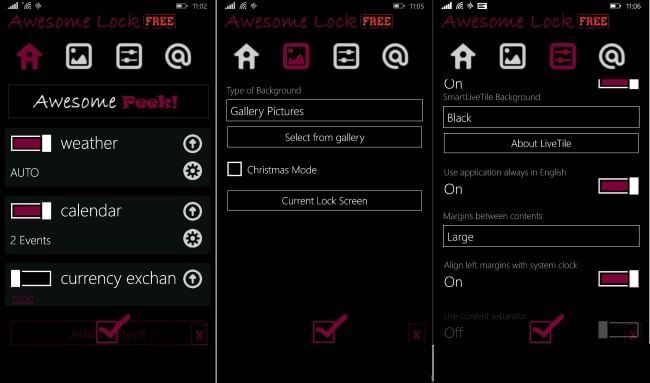 Awesome Lock Free for Windows Phone