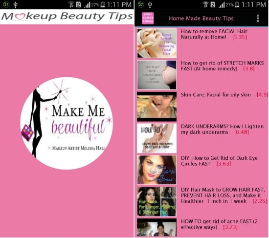 Beauty Tips (Makeup)