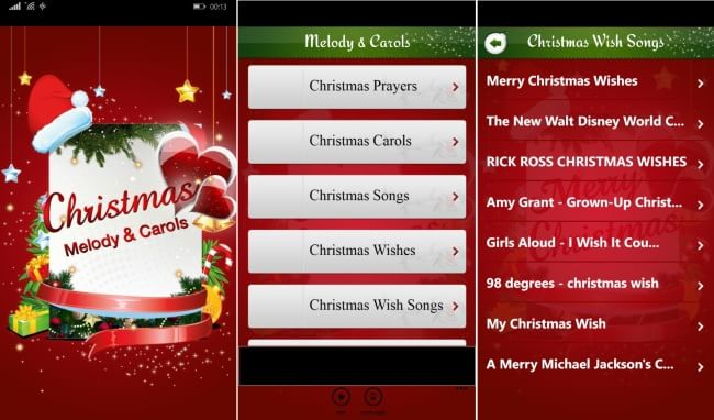 Christmas Melody Carols