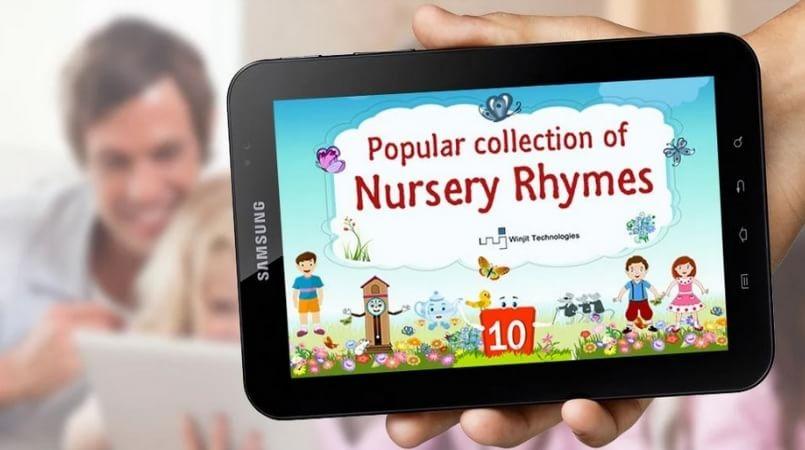 5 Free Nursery Rhyme Apps For Kids and Preschoolers