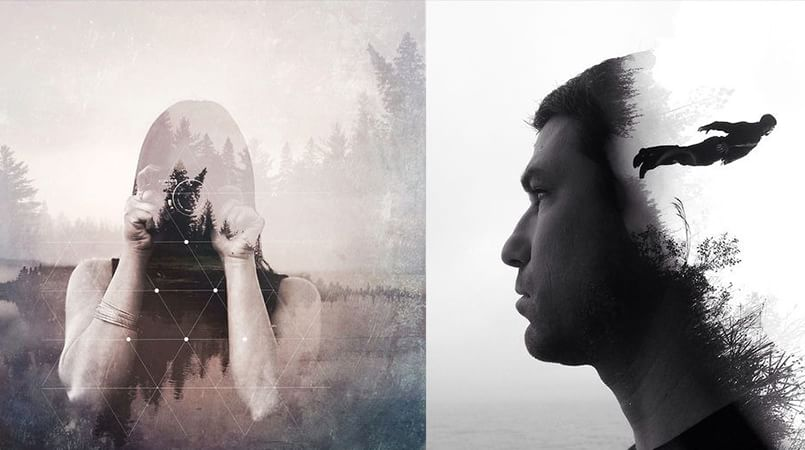 5 photo blending apps to give double exposure effects