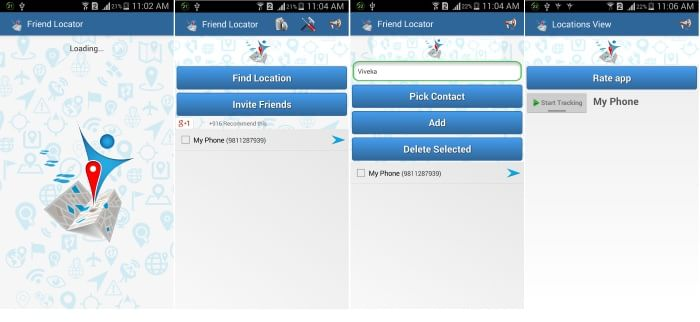 Friend Locator