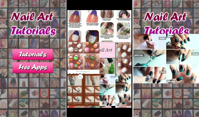 Nail Art Tutorials 2014