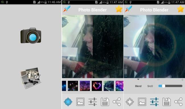 Photo Blender App