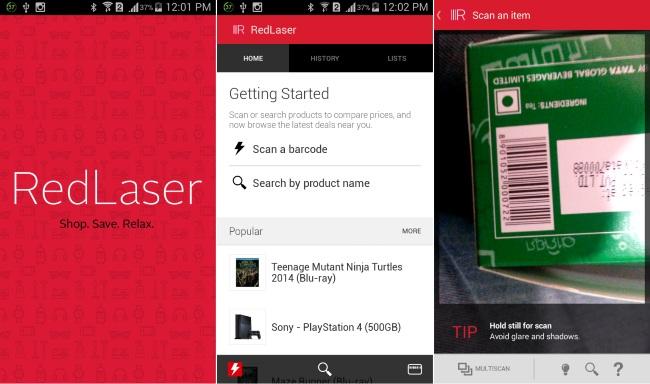 RedLaser Barcode & QR Scanner