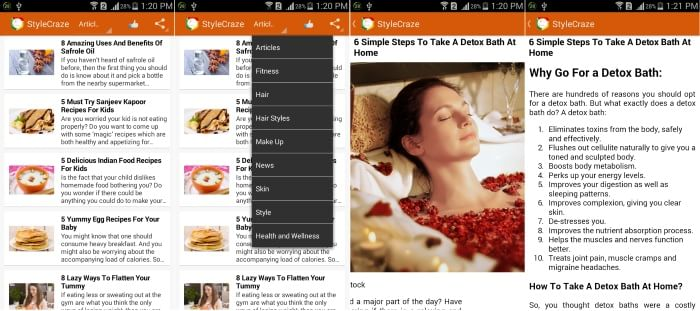 list of beauty tips - Best Android Apps for Latest Makeup Beauty Tips