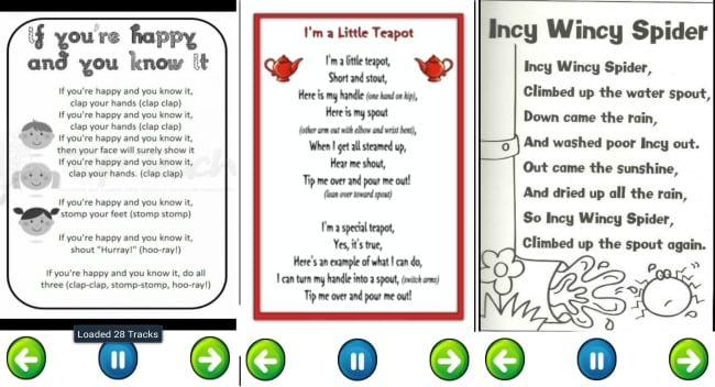 5 Free Nursery Rhyme S For Kids And