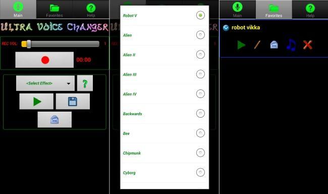 Ultra Voice Changer App