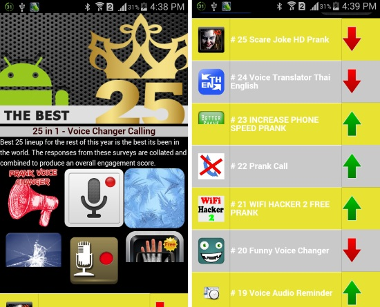 Voice Changer Calling App
