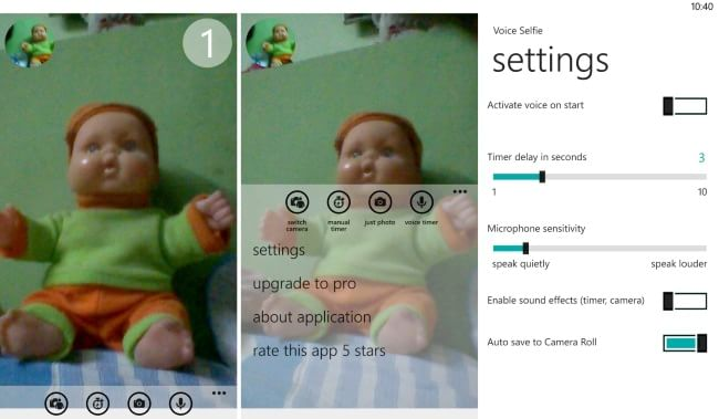 Voice Selfie- Selfie apps