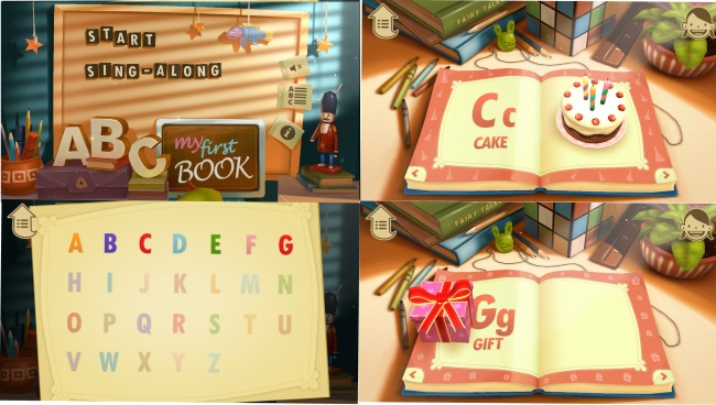 ABC Book 3D-Learn English