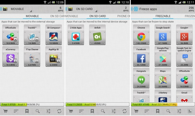 Best Free Android Apps To Move Apps To SD Card