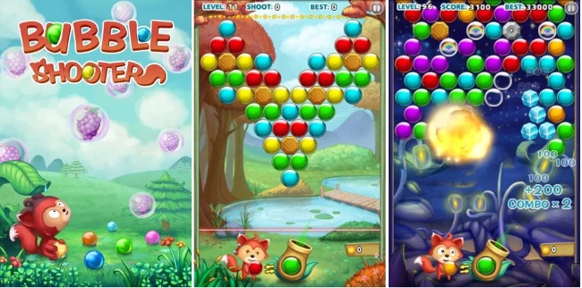 bubble shooter coole
