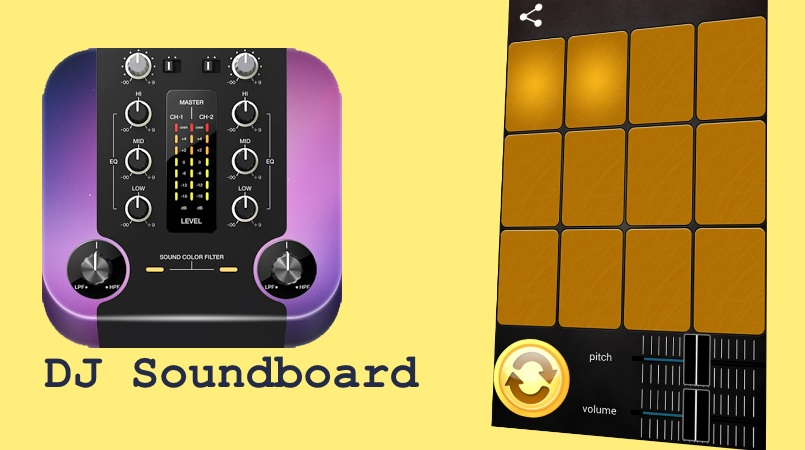 Free DJ Soundboard Android App to Create Deep Bass Beats