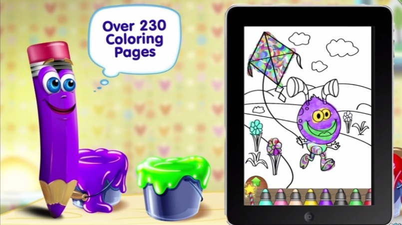 Best Free Kids Coloring Book Apps To Improve Coloring Skills