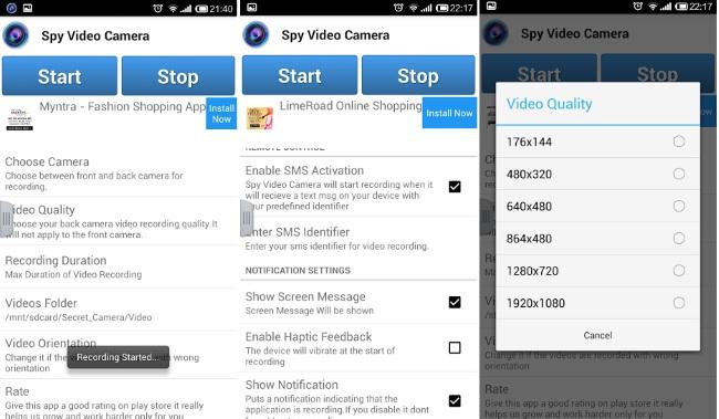 Spy Video Camera