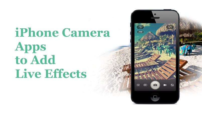 iphone camera effects iphone apps to add live effects to photos in real time 3274