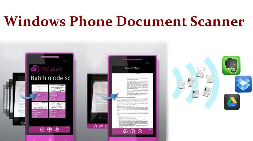 Free windows phone document scanner apps to scan documents urtaz Choice Image