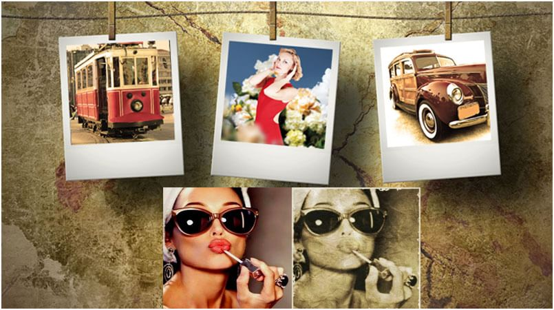 Vintage Photo Editor to Apply Retro Vintage Effects To Photos