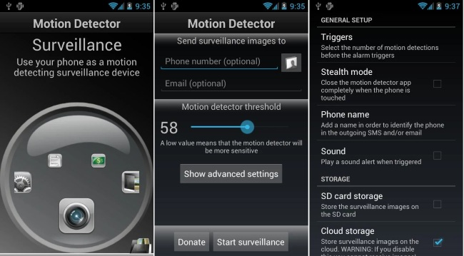 Motion Detector Pro
